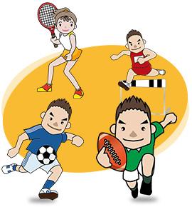 スポーツ障害の専門治療を行います