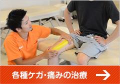 各種ケガ・痛みの治療