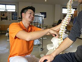 DRT無痛背骨矯正イメージ